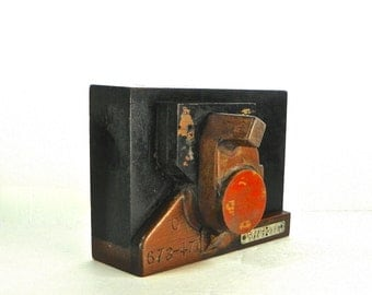 Vintage Wood Foundry Mold