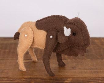Made to Order: Buffalo Keepsake Plush