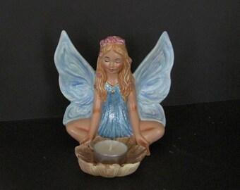Ceramic Fairy Tea Light Holder