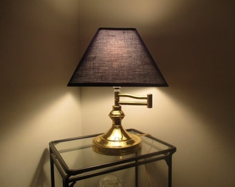 Brass Swing Arm Desk Lamp