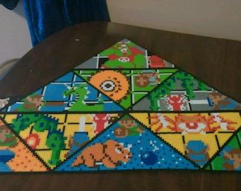 HUGE perler bead mosaic Legend of Zelda!