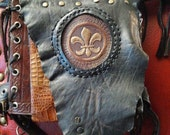 RESERVE for KATHY, Payment #4 Hip/Shoulder Convertible Belt Holster w/Thigh Pouch, Multi Pocket/Multi Pouch Design