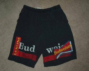 Budweiser Beer Vintage Men's Swimwear Bathing Suit LRG