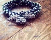Hootie and the Beads: Versatile crocheted necklace / bracelet / belt / headband