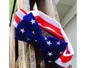 America Bow Headband