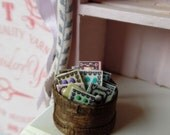 Button Box for Miniature Sewing Room