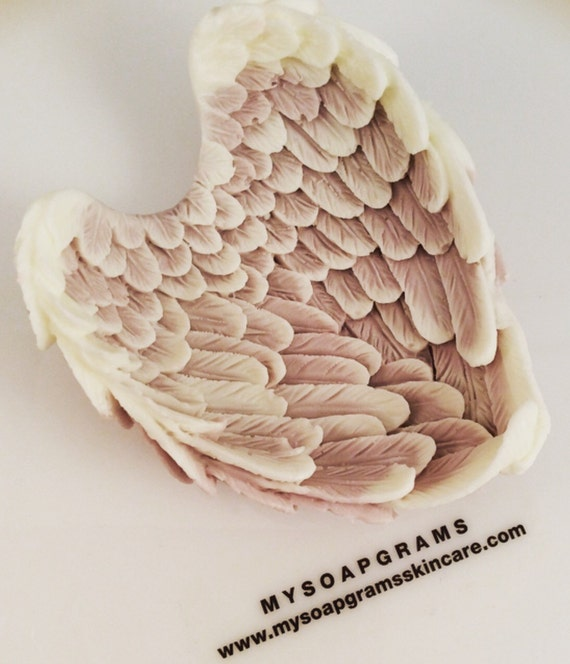 10 Angel Wings Soap Favors Wedding Favors Baby Shower Favors Party Favors Dedications