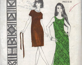 Pattern for a long summer dress
