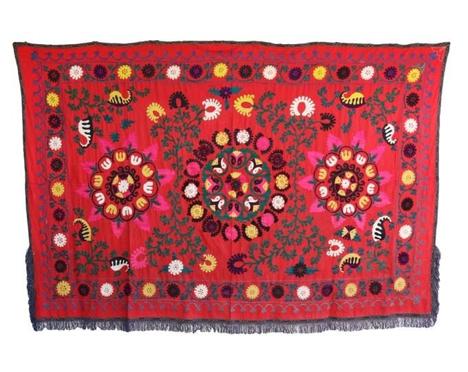 Handmade Vintage Suzani NL3023