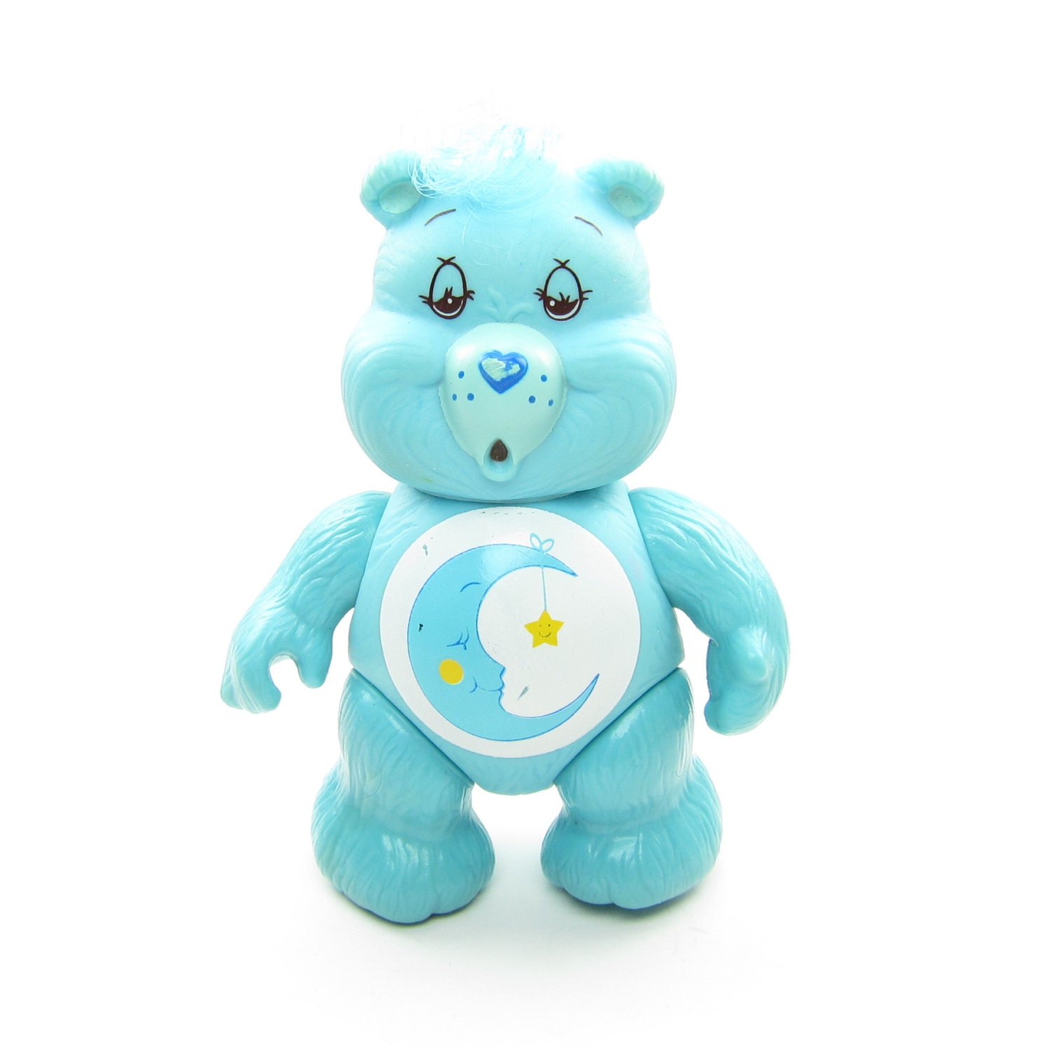 Toys For Bedtime : Bedtime bear care bears vintage poseable pvc toy figurine