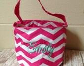 Monogrammed Personalized Easter Basket Boys Girls Toddlers Easter Basket