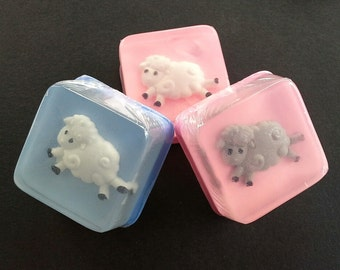 Little Lamb Soap Favors