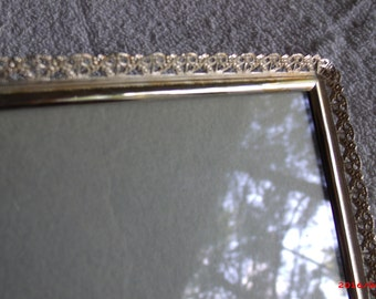 Wedding Gift! Silver Frame, Silver Plated picture frame, 7x5 picture frame, plated silver photo frame, picture frame, silver frame....
