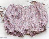 Baby Bloomers - Tilda 100% Cotton, choose design - handmade, choose size 0-3 months-2 years, UK Seller
