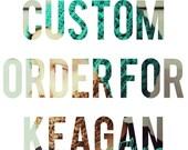 Custom Listing for Keagan