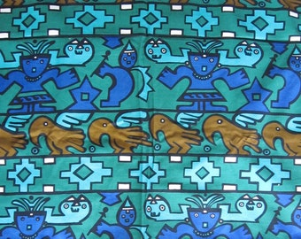 Mid Century Vintage Fabric, A Steven
