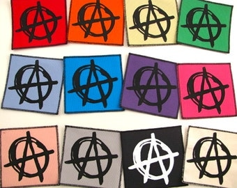 Anarchy patch....FREE SHIPPING USA