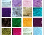 Faux Fur Swatch Sample Cutting - Rug Color Match - You Choose