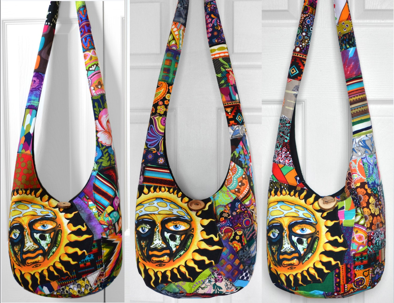 MADE TO ORDER Hobo Bag Crossbody Bag Sling Bag Hippie Purse