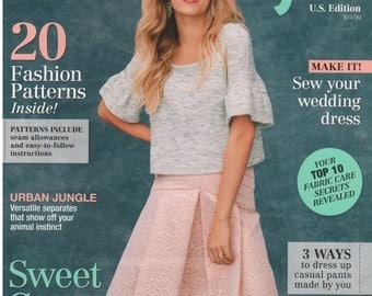 Burda Style Magazine US Edition Spring 2015 20 Full Size Fashion Sewing Patterns Uncut