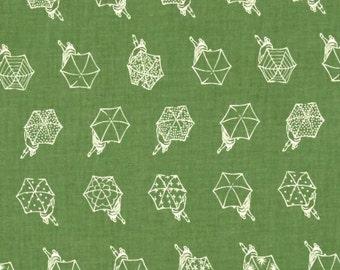 Cotton + Steel - Rashida Coleman Hale - Raindrop - Rainwalk Spearmint