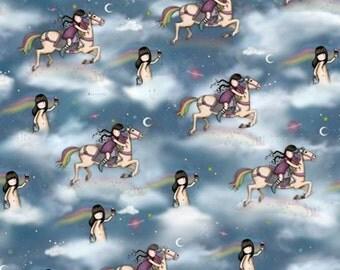 Quilting Treasures - SANTORO'S GORJUSS - Rainbow Dream Scenic