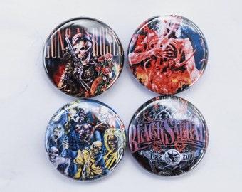 Metal band pin pack