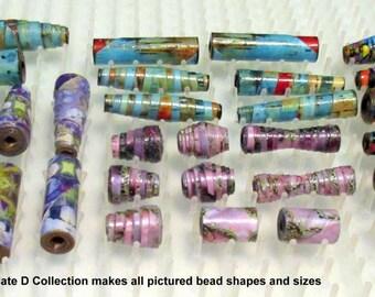 Paper Bead Template Colection D D2 D3 D4 Value Pack