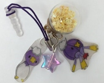 Drifloon Drifblim Pokemon cell phone DS Charm GO