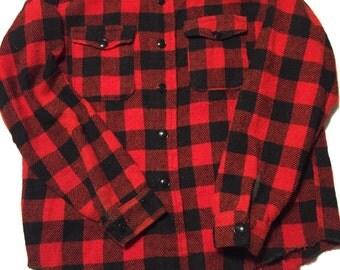 Melton Wintermaster wool shirt Made in USA