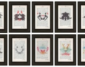 Reserved listing! 1 Print! Doctor Psychology Psychiatry Hermann Rorschach