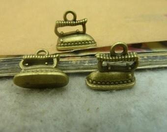 20pcs 7*13*14mm antique bronze iron charms pendant C3442