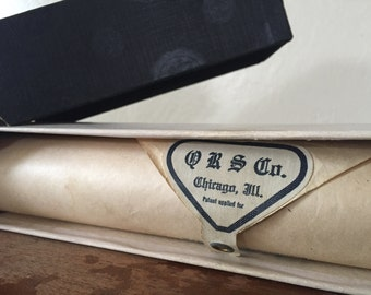 1918 Piano Word Roll, Q R S Co. General Pershing March