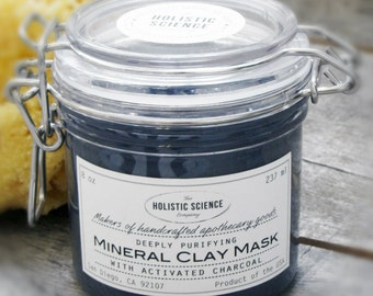 Mineral Clay Mask with Activated Charcoal...This is the mother of all mud masks!