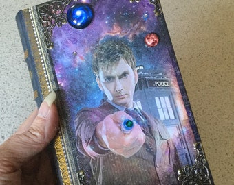 RESERVED for GINA MARIE Dr. Who David Tennent Book Box
