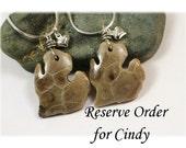Reserve Order for Cindy