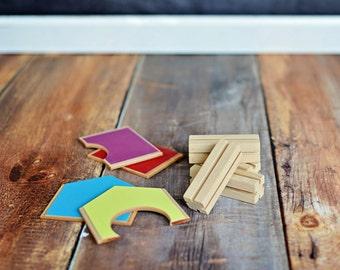 Mini City Building Kit - EXTRA ROOM KIT for Mini City MODplayhouse  Eco-Friendly Toy