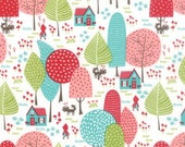 Lil Red - To Grandmother's House in Multi - Stacy Iset Hsu for Moda - 20502 11 - 1/2 yd