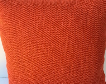Solid RED 20x20 Decorative Pillow Cover Toss Pillow Throw Pillow