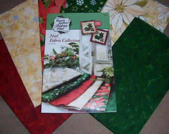 Annie's Creative Quilters Fabric Club Noel Fabric Collection.....Quality Cotton Fabric for Quilting and Sewing.....