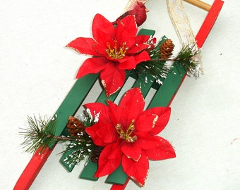 Small Wooden Decorative Sled