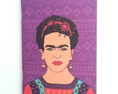 Frida Kahlo Pocket Notebook / Sketchbook – Set of 2