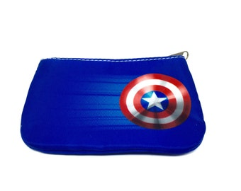 Captain America's Shield pouch or coin purse