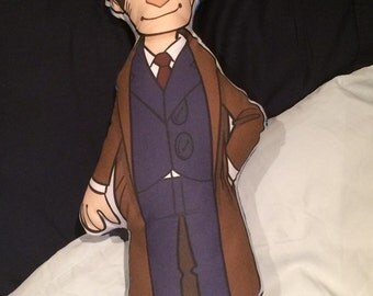 Doctor Who 10th Doctor Pillow Plush