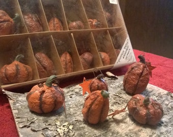 Mini Pumpkin Ornaments 3 sets