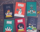 Winter Wonderland Christmas card pack - Christmas cards - Holiday cards - xmas cards