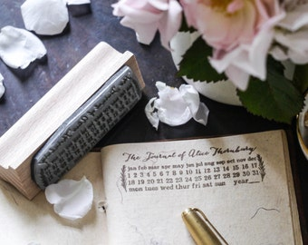 Personalised Journal Stamp