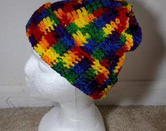 Rainbow Toddler Hat