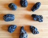 Tecktites, meteorite, loo...