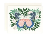 Butterfly No. 2--blank greeting card